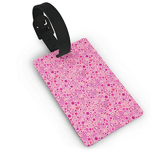 and Flowers Luggage Tag Travel ID Bag Tag ()