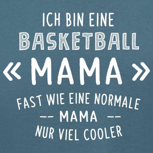 Ich bin eine Basketball Mama - Damen T-Shirt - 14 Farben Indigoblau