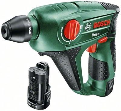Bosch UNOE - Martillo perforador Uneo + 2 baterías