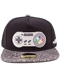 Nintendo - Casquette Snapback - Super Nintendo Controller Metal
