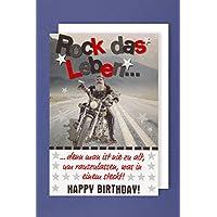 Suchergebnis Auf Amazon De Fur Geburtstagskarte Rock Kuche