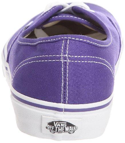 Vans U Authentic, Unisex - Erwachsene Sneaker Violett (Purple Iris/True White))