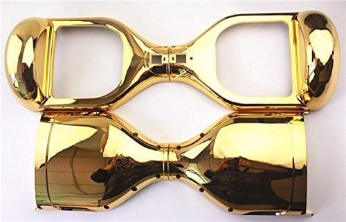 Gold Chrom Ersatz äußere Shell für 16,5 cm Smart selbst Balance Rad Balancing Elektro Scooter Hoverboard Ersatzteile