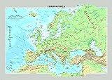 Europa fisica e politica - Carta Murale