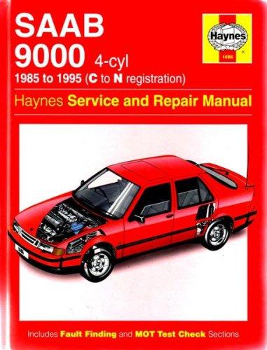 Saab 9000 (4-Cyl) Service and Repair Manual (Haynes Service and Repair Manuals) por A. K. Legg