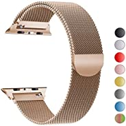 Huifan Milanese Loop Bracelet Stainless Steel band For Apple Watch series 1/2/3 42mm 38mm Bracelet strap for iwatch series 4