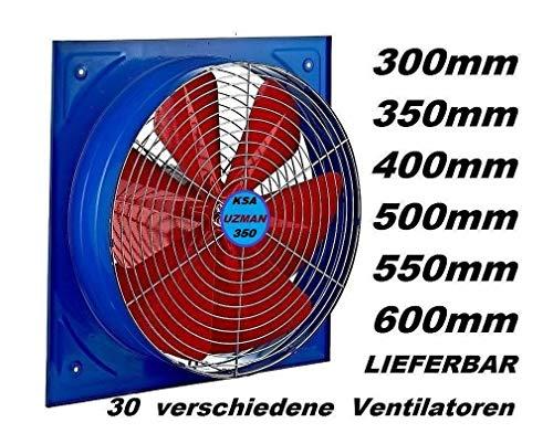 Uzman-Versand KSA-350 Ventilador, Ventilación Extractor Ventiladores ventiladore industriales Axial axiales extractores aspiracion...