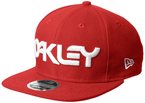 Gorro Snapback Oakley New Era Mark Ii Novelty Rojo