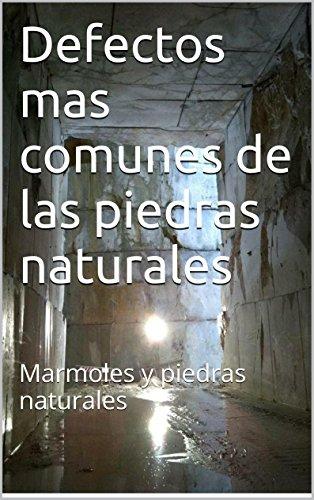 Defectos mas comunes de las piedras naturales: Marmoles y piedras naturales (Guias tecnicas del marmol y otras piedras naturales nº 4)