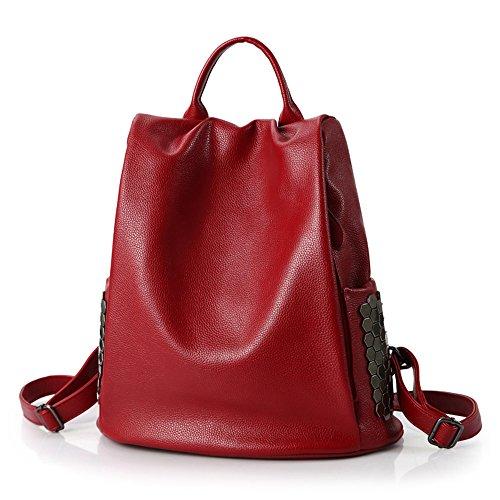 arz Schultertasche große Kapazität, rot, 34 X 33 X 17 CM (Nova Mädchen Kleidung)