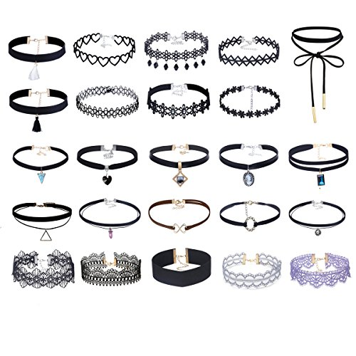 tpocean-24pcs-regolabile-vintage-lace-tattoo-girls-choker-set-gotico-velluto-collane