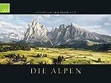 GEO SPECIAL: Die Alpen 2018: Landschaftskalender
