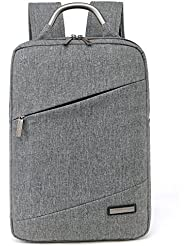 Crazy Ants Waterproof 15.6 inches Laptop Computer Business Bag Backpack Briefcase Nylon for man, 516#Gray