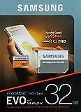 32GB microSD SDHC UHS-1 class 10 Speicherkarte SAMSUNG EVO 32GB microSD Karte 95MB/S 32GB MicroSDHC Speichererweiterung für Smartphone oder Tablet inkl. SD Adapter passt für Samsung Galaxy Sony Xperia LG Asus Alcatel Lenovo Acer Xiaomi Motorola Huawei Handy Tablet NEU&OVP + Schutzhülle