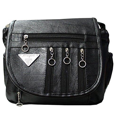 5967d275d8 Attire Fancy Fancy Elegant Fashion Sling Bag for Women   Girls (Black)
