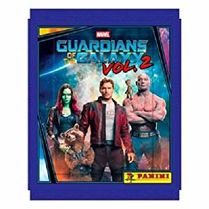 10x Panini Guardians Of The Galaxy Vol. 2 Sticker Pack (10 sealed packs)