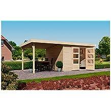 Gartenhaus Mit Schleppdach Grau