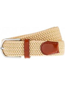 Cintura intrecciata elastica, Per uomini e donne, Colori multipli e dimensioni