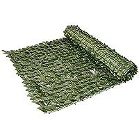 Siepe Artificiale 1x3 m per Balcone Edera 100x300 cm Siepe Sintetica Rotolo Siepe Finta da Esterno con Foglie Recinzione…