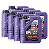8x LIQUI MOLY 1306 Synthoil High Tech 5W-40 Motoröl Vollsynthetisch 1L