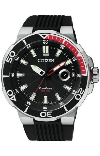 Orologio solo tempo uomo citizen marine sport trendy cod. aw1420-04e