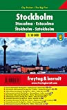 Freytag Berndt Stadtpläne, Stockholm, City Pocket + The Big Five, wasserfest - Maßstab 1:10 000