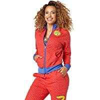 Zumba Chaqueta de chándal, Mujer, Well Red, Large