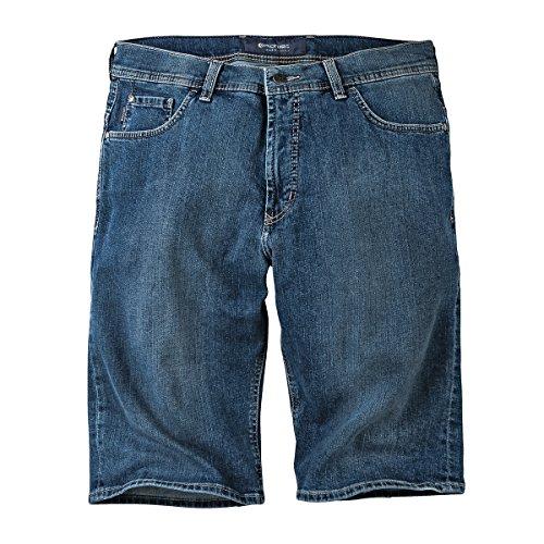 XXL Pionier Jeans-Bermuda blue stone used mit Stretch Blau