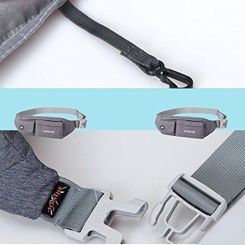 51YbhERdaLL. SS500  - Waterfly Waist Bag Pack Slim Water Resistant Fanny Pack Travel Bum Bag Running Belt for Traveling Cy