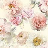 Arthouse Tapete Strass - Blüten Rouge, Full Roll