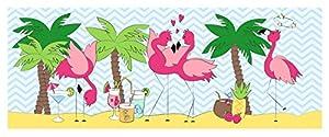 Ursus 184000158Mini Mesa Luces Ambiente, Flamingo, 115g/m², 5Hojas