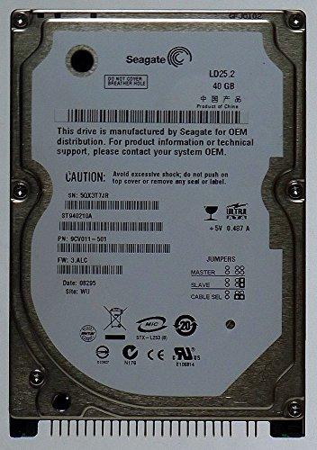 NEU: Notebook Festplatte IDE 40GB Seagate LD25.2 ST940210A ID12703 (40gb Laptop Seagate)