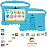 Kids Tablet 7.0 Inch Android 7.0 System, Quad-Core 2GB RAM + 32GB ROM