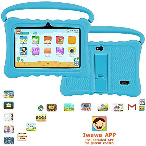 tablet dragon touch Dragon Touch Tablet per Bambini 7 Pollici 32 GB Rom Android 6 Wi-Fi e Bluetooth IPS HD 1024*600 Quad Core Kidoz e Google Play preinstallato con Kid-Proof Custodia (G3)
