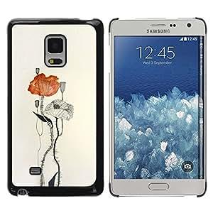 LASTONE PHONE CASE / Hart Hülle Tasche Schutzhülle Cover Shell Für Samsung Galaxy Mega 5.8 9150 9152 / Paper Watercolor Art