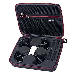 Smatree DT260 étui de Transport pour DJI Tello Drone et 4 Batteries