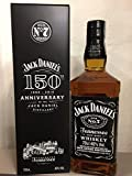 Jack Daniel's 0,70 lt. Limited Edition 150 th Anniversary + Metal Box …