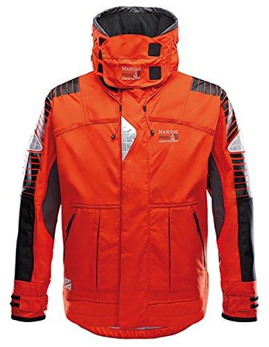 Marinepool Herren Segeljacke Ramsgate Offshore orange, S