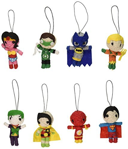 DC Comics String Dolls (8 Piece Set) by DC Comics (String Doll Set)
