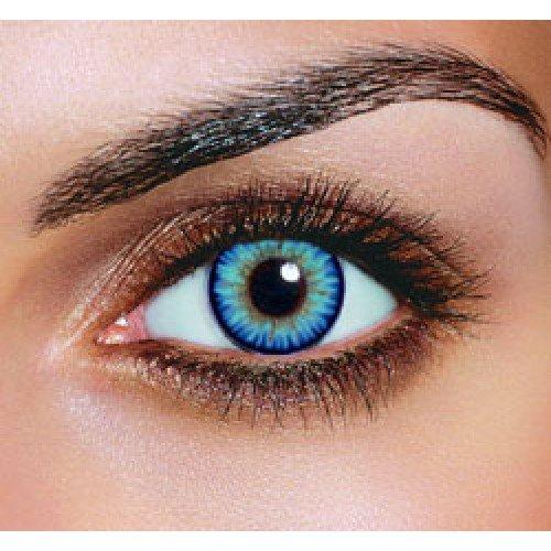 Blaue farbige Kontaktlinsen