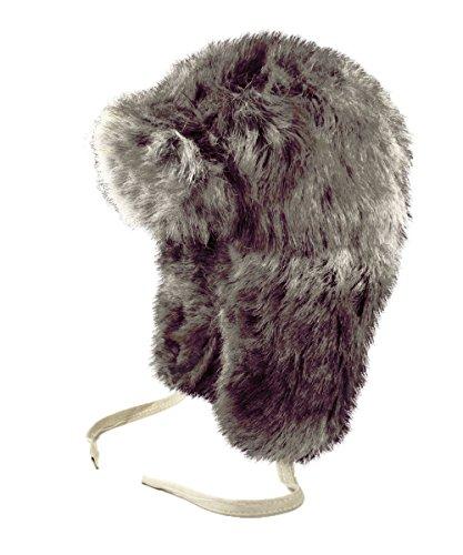us-Pelz-russischen Stil Trappermütze Fellmütze (Russische Faux Pelz Hut)