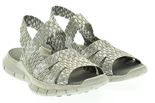 BM BERNIE MEV donna sandali CINDY grigio 36 GRIGIO