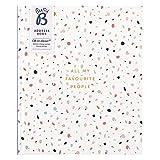 Großes Busy B Adressbuch - mit alphabetischem Register, Stickern & Steckfach