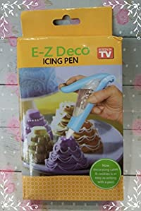 EZ Deco Icing Pen Cake Cupcake Decorating Beautifully decorates cakes cookies