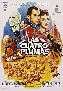The Four Feathers Poster Movie Spanish D 27 x 40 In - 69cm x 102cm Alexander Knox John Clements Ralph Richardson Sir C. Aubrey Smith June Duprez Donald Gray