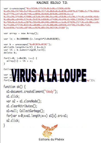 Virus à la loupe par TRESOR DIEUDONNE KALONJI BILOLO