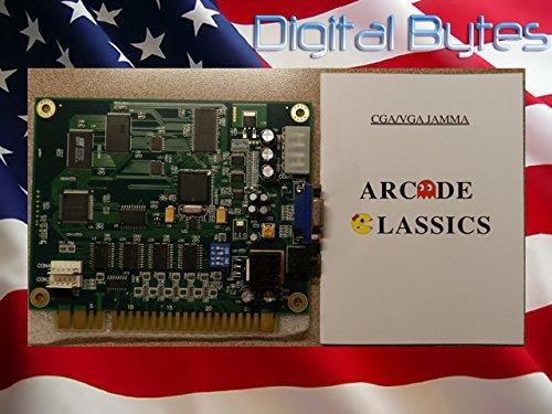 WINIT Classical Arcade Video Game 60 in 1 Pcb Jamma Board Cga/vga Output by Winit (Einem 60 Arcade In)