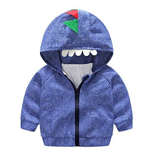 i-uend 2019 New Baby Mantel, Kleinkind Baby Mädchen Jungen Mit Kapuze Tops Cartoon Dinosaurier Mantel Reißverschluss Outwear Jacke Für 3-24 - Von Trapp Kostüm