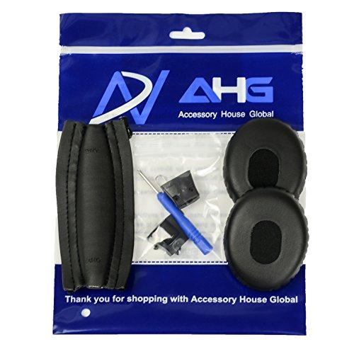 Accessoire de Maison des Coussinets d'oreille de Remplacement Bandeau Coussin pour Bose QuietComfort 3(QC3)-Package est Compatible Uniquement avec QC3.