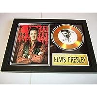 Elvis Presley dédicacé disque d'or